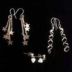 Jewelry - 🔷️For Charity🔷️ Variety bundle star swirl pearls